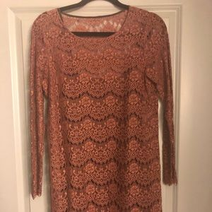 Lace dress with lining Anthropologie